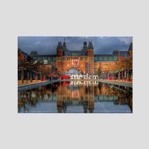 I Heart Amsterdam Rectangle Magnet